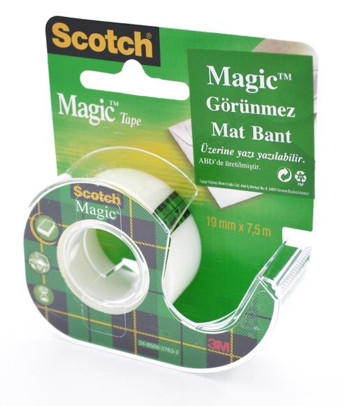 Scotch Magic Bant Kesicili 19 mm x 7,5 mt 8-1975D