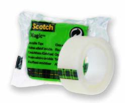 Scotch Magic Bant Tekli Poşet 19 mm x 7,5 mt 8-1975R24 - Thumbnail