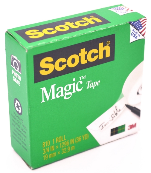Scotch Magic Görünmez Mat Bant 19 mm x 32,9 m 810