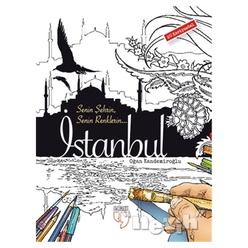 Senin Şehrin Senin Renklerin - İstanbul - 20 Kartpostal - Thumbnail