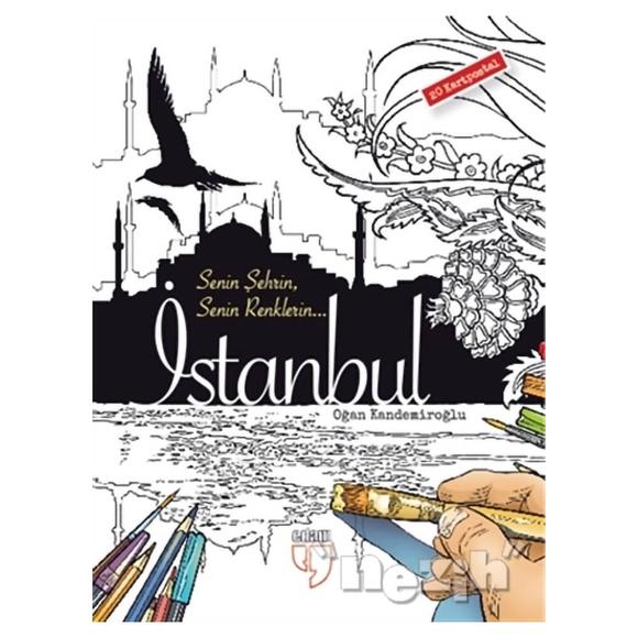 Senin Şehrin Senin Renklerin - İstanbul - 20 Kartpostal