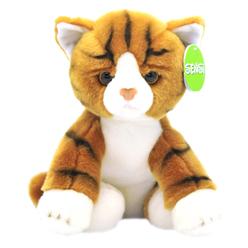 Sensi Sarı Kedi Peluş 30 cm 47468 - Thumbnail