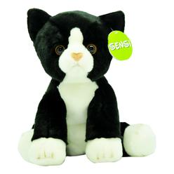 Sensi Siyah Kedi Peluş 30 cm 47479 - Thumbnail