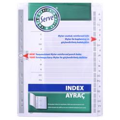 Serve Ayraç A-Z Alfabetik SV-5328 - Thumbnail
