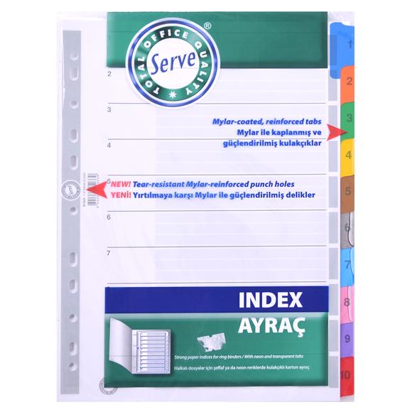 Serve Ayraç Klasik 1-10 Rakam SV-5524K