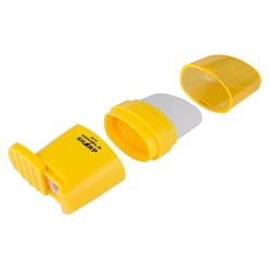 Serve Double Kalemtıraşlı Silgi Neon Renkler - Thumbnail