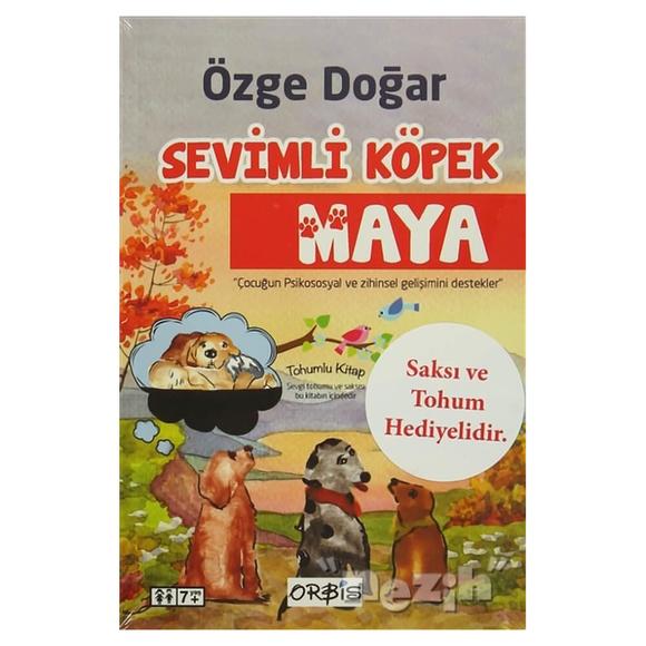 Sevimli Köpek Maya - Tohumlu Kitap