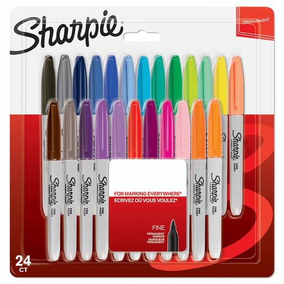 Sharpie Fine Permanet Markör Karışık 12 Renk 2065404