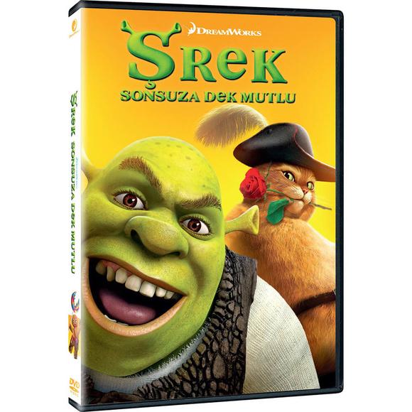Shrek Forever After - Shrek Sonsuza Dek Mutlu - DVD