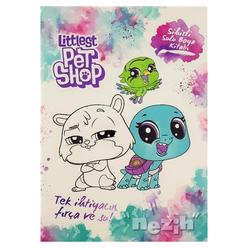 Sihirli Sulu Boya Kitabı - Littlest Pet Shop - Thumbnail