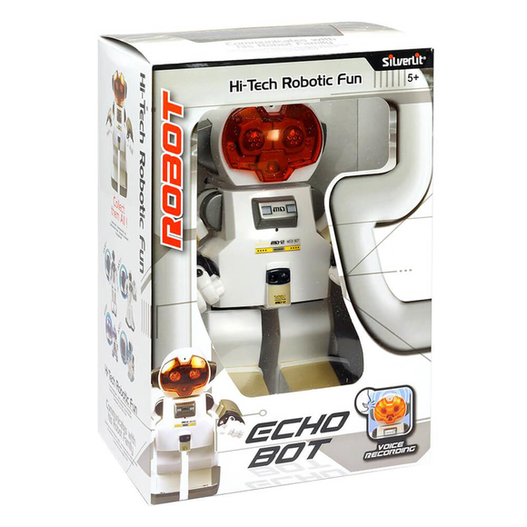 Silverlit Echo Bot Ses Kaydet ve Dinle Robot 22 cm 88308