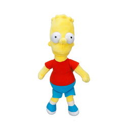 Simpson Bart Peluş Figür 17 cm - Thumbnail