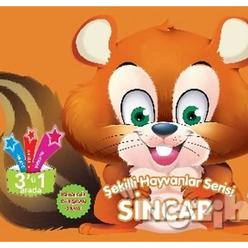 Sincap - Şekilli Hayvanlar Serisi - Thumbnail