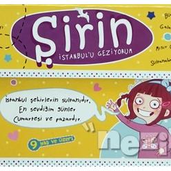 Şirin İstanbul'u Geziyor (5 Kitap Takım) - Thumbnail