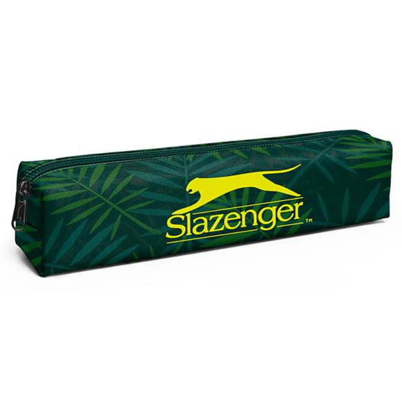 Slazenger Kalem Kutusu Yaprak Desenli Yeşil 12455