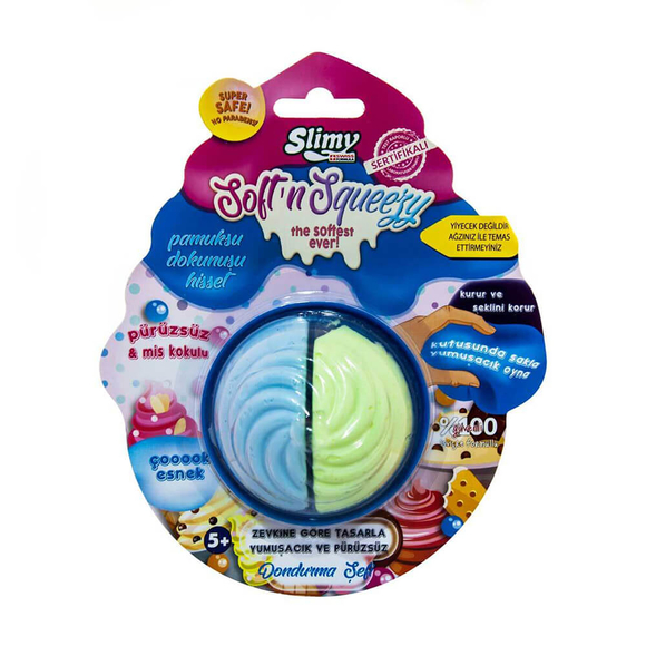 Slimy Soft'n Squeezy Dondurma Şefi Serisi 32210