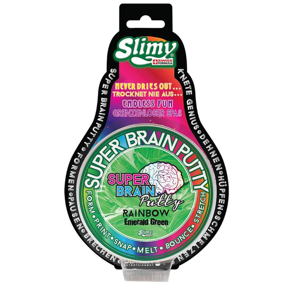 Slimy Super Brain Putty Gökkuşağı Renkler 34052