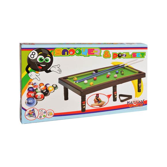 Snooker ve Pool Bilardo Seti