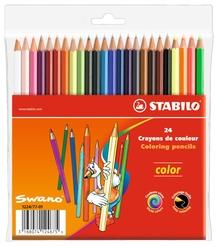 Stabilo Color Kuru Boya 24 Renk 1224/77-01 - Thumbnail