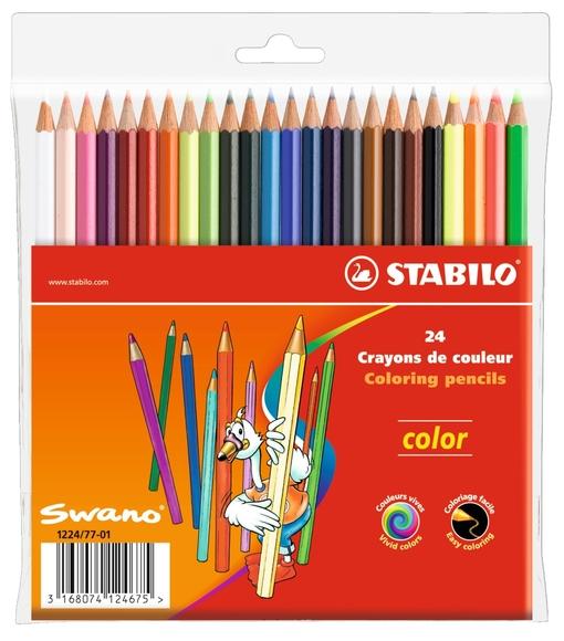 Stabilo Color Kuru Boya 24 Renk 1224/77-01