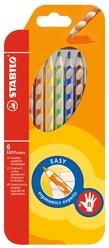 Stabilo Easy Colors Kuru Boya Kalemi 6 Renk Sağ El 332/6 - Thumbnail