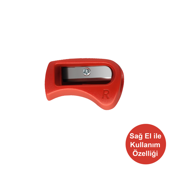 Stabilo Easygraph Colors Kalemtıraş Sağ El Kırmızı 4532