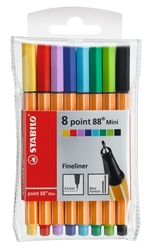 Stabilo Point 88 Mini 8 Renk 688/08-1 - Thumbnail