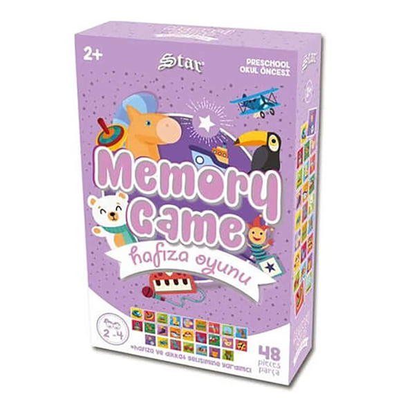 Star Memory Game Hayvanlar 1061060