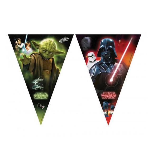 Star Wars and Heroes Bayrak Set