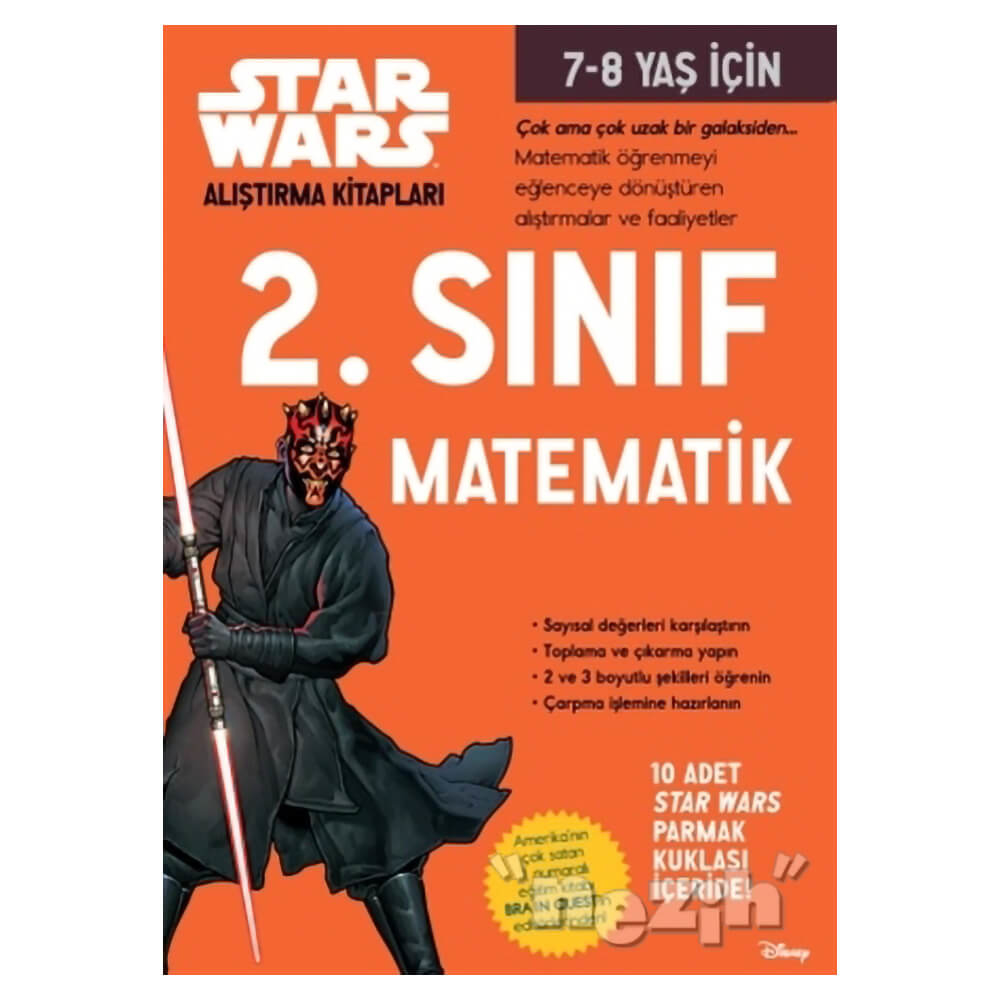 Starwars Alistirma Kitaplari 2 Sinif Matematik Nezih
