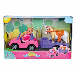 Steffi Evi Love Horse Trailer Oyun Seti 105737460 - Thumbnail