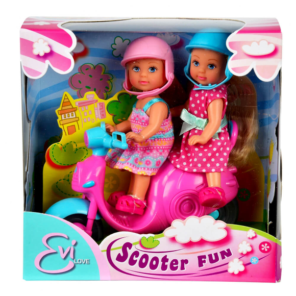 Steffi Evi Love Scooter Fun Oyun Seti 105730485