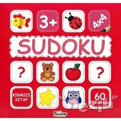 Sudoku 4x4 - Kırmızı Kitap - Thumbnail