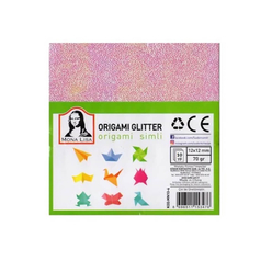 Südor Simli Origami Kağıdı Kare 14,8 cm MN10-4 - Thumbnail