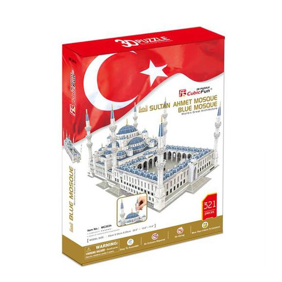 Sultan Ahmet Camii 321 Parça 3D Puzzle MC203H