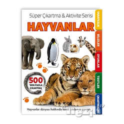 Süper Çıkartma Aktivite Serisi - Hayvanlar - Thumbnail