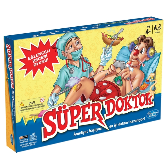 Süper Doktor Eğlenceli Beceri Oyunu A4053