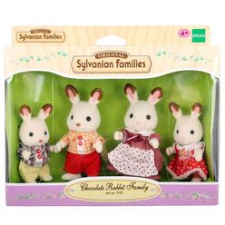 Sylvanian Families C Rabbit Family 3125 - Thumbnail