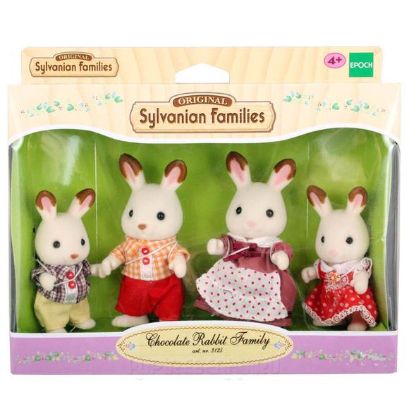 Sylvanian Families C Rabbit Family 3125