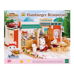 Sylvanian Families Hamburger Restoranı ESE1860 - Thumbnail