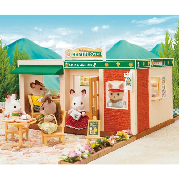 Sylvanian Families Hamburger Restoranı ESE1860
