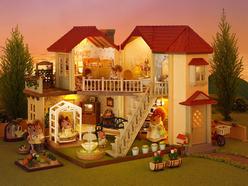 Sylvanian Families Işıklı Şehir Evi 2752 - Thumbnail