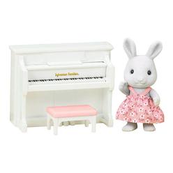 Sylvanian Families Tavşan Kız Kardeş ve Piyano ESE1916 - Thumbnail