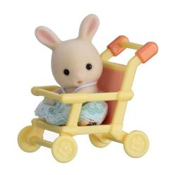 Sylvanian Families Tavşan ve Bebek Arabası EST5201 - Thumbnail