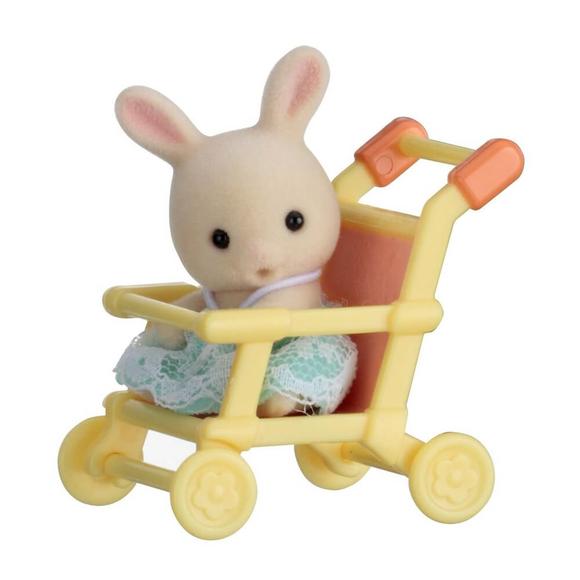 Sylvanian Families Tavşan ve Bebek Arabası EST5201