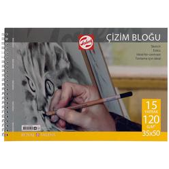 Talens 120 gr Çizim Blok 35X50 cm 15 Yaprak 120355015 - Thumbnail