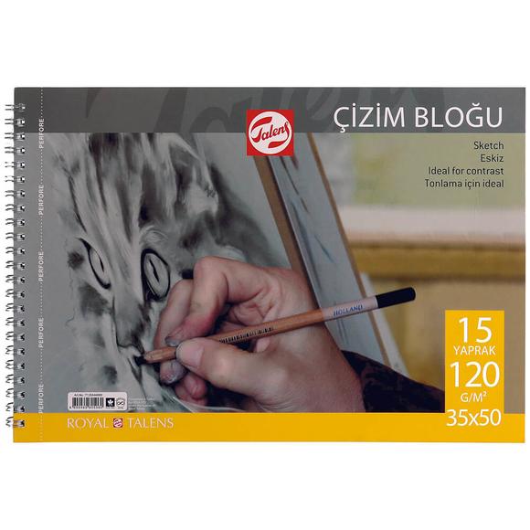 Talens 120 gr Çizim Blok 35X50 cm 15 Yaprak 120355015