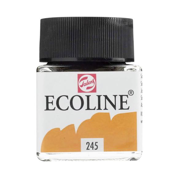 Talens Ecoline Sıvı Sulu Boya 30 ml Saffron Yellow 245