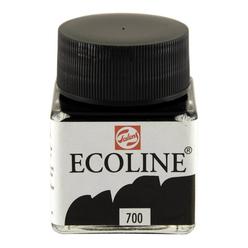Talens Ecoline Sıvı Suluboya 30 ml Black 700 - Thumbnail