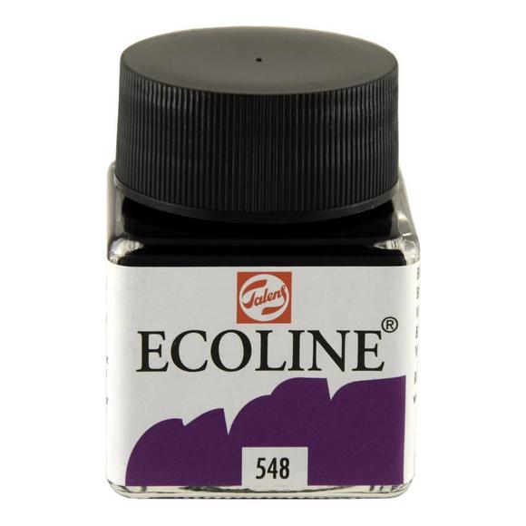 Talens Ecoline Sıvı Suluboya 30 ml Blue Violet 548